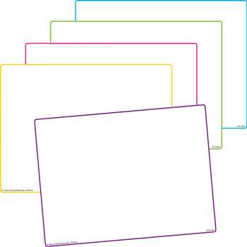 Blank Dry Erase Boards 10 St, TCR77254