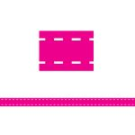Hot Pink Stitch Magnetic Strips, TCR77264