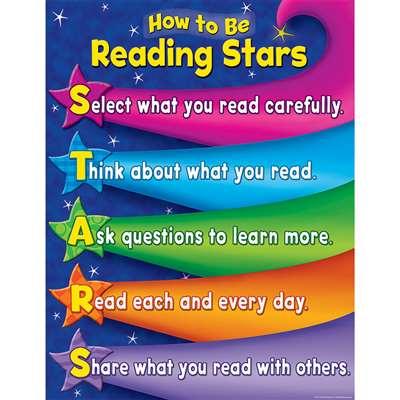 Reading Stars Chart By Teacher Created Resources