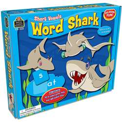 Word Shark Short Vowels Game By Teacher Created Resources