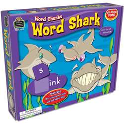 Word Shark Word Chunks Game By Teacher Created Resources