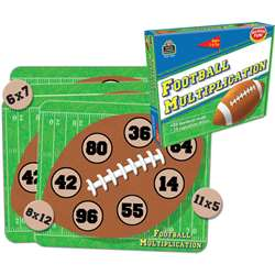 Football Multiplication Game By Teacher Created Resources