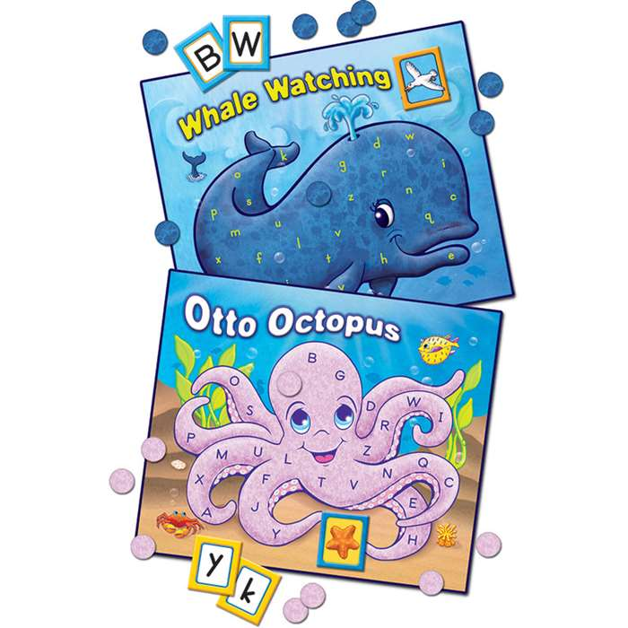 Undersea Abc'S Game By Teacher Created Resources