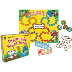 Digging Up Sight Words Game Ages 6 & Up By Teacher Created Resources