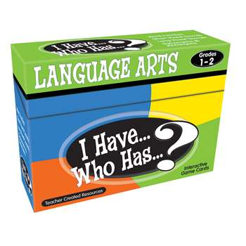 I Have Who Has Language Arts Games Gr 1-2 By Teacher Created Resources