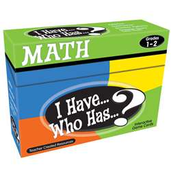 I Have Who Has Math Games Gr 1-2 By Teacher Created Resources