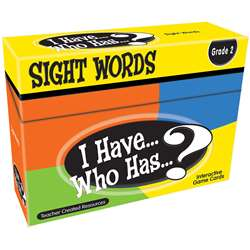 I Have Who Has Gr 2 Sight Words Games, TCR7870