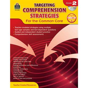 Gr 2 Targeting Comprehension Strategies For The Co, TCR8031