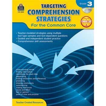 Gr 3 Targeting Comprehension Strategies For The Co, TCR8035