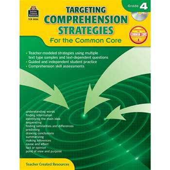 Gr 4 Targeting Comprehension Strategies For The Co, TCR8036