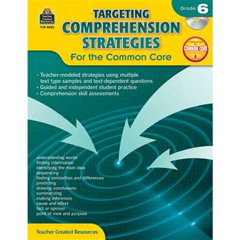 Gr 6 Targeting Comprehension Strategies For The Co, TCR8053