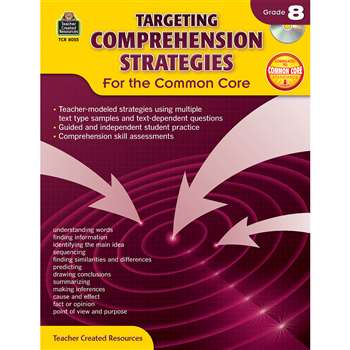 Gr 8 Targeting Comprehension Strategies For The Co, TCR8055