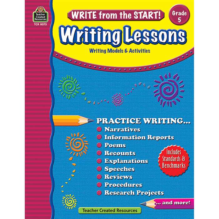 Write From The Start Gr 5 Writing Lesson By Teacher Created Resources