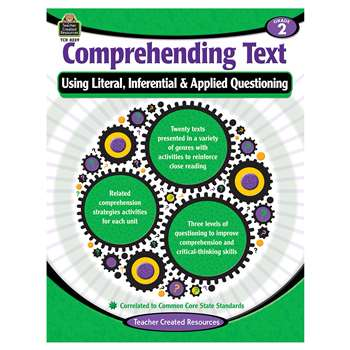 Comprehending Text Gr 2, TCR8239