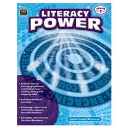 Literacy Power Gr 1, TCR8370