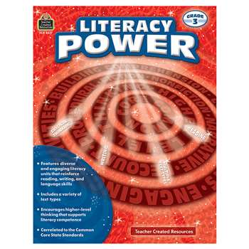 Literacy Power Gr 3, TCR8377