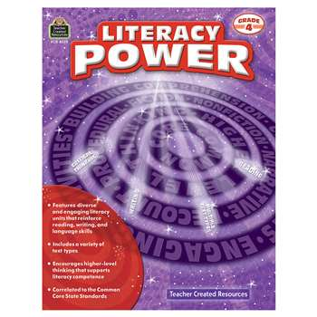 Literacy Power Gr 4, TCR8378