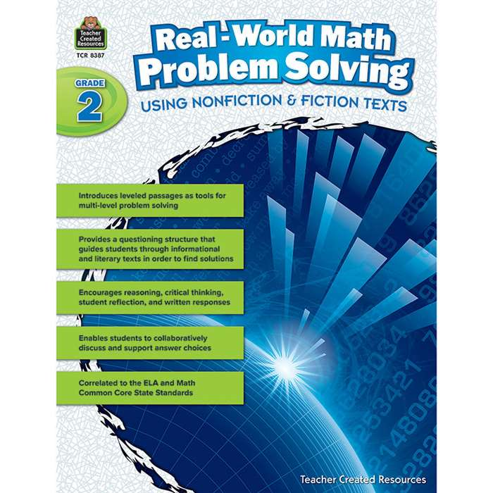 Realworld Math Problem Solving Gr 2, TCR8387