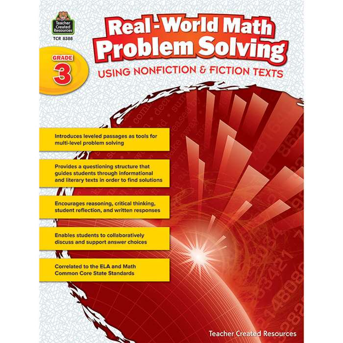 Realworld Math Problem Solving Gr 3, TCR8388