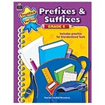 Prefixes And Suffixes Grade 5, TCR8609