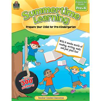 Summertime Learning Gr Pk By Teacher Created Resources