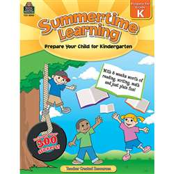 Summertime Learning Gr K By Teacher Created Resources