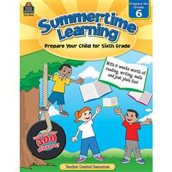 Summertime Learning Gr 6, TCR8846