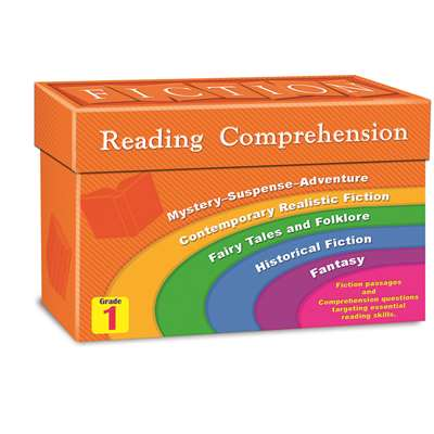 Fiction Reading Comprehension Cards Gr 1 By Teacher Created Resources