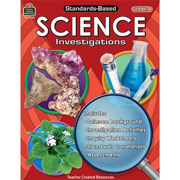 Standards-Based Science Investigation Grade 4 By Teacher Created Resources