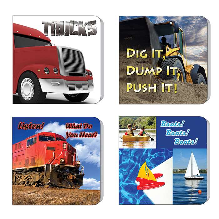 Things That Go Board Books Set Of 4, TCR90064