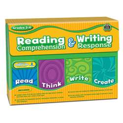 Gr 3-4 Reading Comprehension & Writing Response By Teacher Created Resources