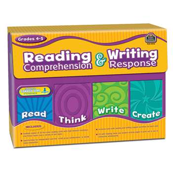 Gr 4-5 Reading Comprehension & Writing Response By Teacher Created Resources