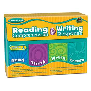 Gr 5-6 Reading Comprehension & Writing Response By Teacher Created Resources