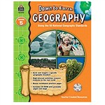 Down To Earth Geography Grade 5 Book W/Cd By Teacher Created Resources