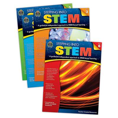 Stepping Into Stem Set Of 4, TCR9536