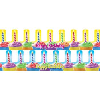 Birthday Cupcake Crowns 36/Pk By Teachers Friend