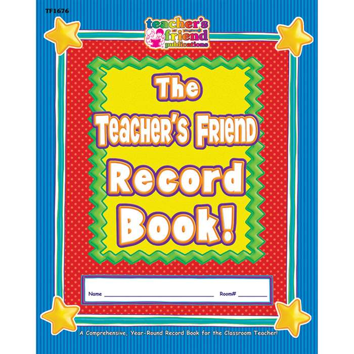 Gr K-5 The Back To School Record Book 8-1/2 X 11 By Teachers Friend