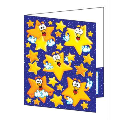 Pocket Folder Look To The Stars Plastic Coated By Teachers Friend