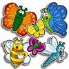 Accent Punch-Outs Bees Bugs & Butterfliesaccent Punch-Outs By Teachers Friend