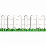 White Picket Fence Accent Punch-Out By Teachers Friend