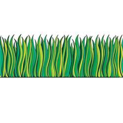 Tall Green Grass Accent Punch Outs By Teachers Friend