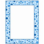 Blue Polka Dots Printer Paper By Teachers Friend