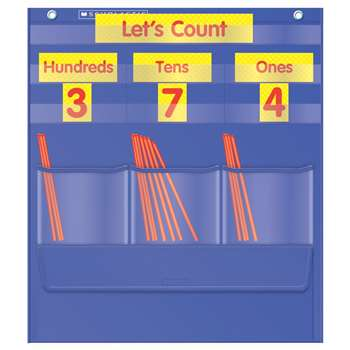 Counting Caddie And Place Value Pocket Chart Gr K-3 By Teachers Friend
