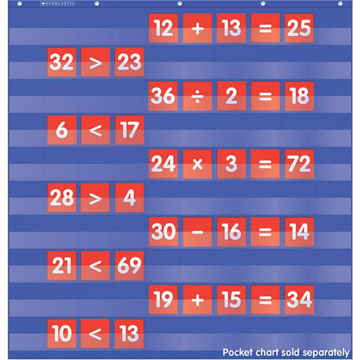 Numbers & Counting Pocket Chart Add Ons By Teachers Friend