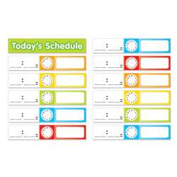 Schedule Cards Pocket Chart Add Ons By Teachers Friend
