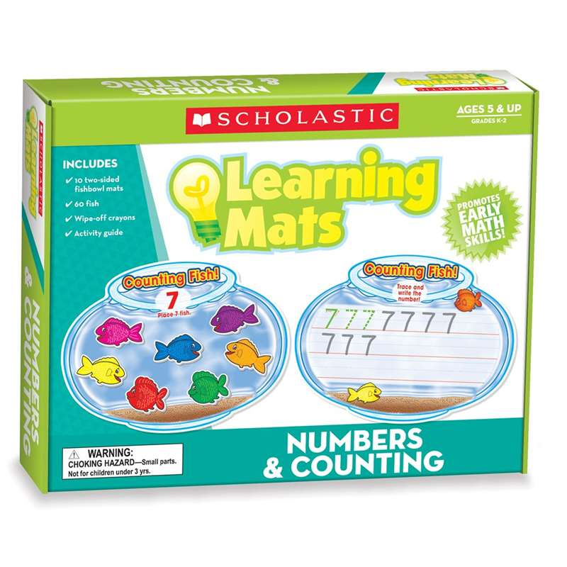 Numbers Amp Counting Learning Mats By Teachers Friend