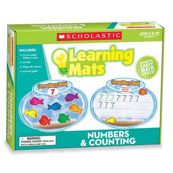 Numbers & Counting Learning Mats By Teachers Friend