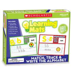 Match Trace & Write The Alphabet Learning Mats By Teachers Friend
