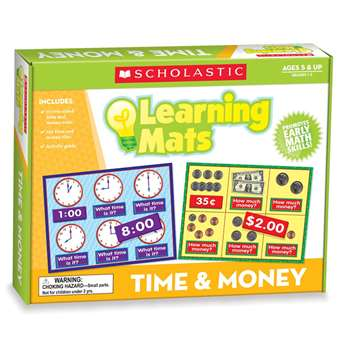 Time And Money Boxed Kits - Mats By Teachers Friend