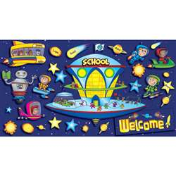 Space School Welcome Bbs By Teachers Friend